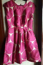 KATE SPADE PRINTED SLEEVELESS COCKTAIL DRESS, SIZE 4