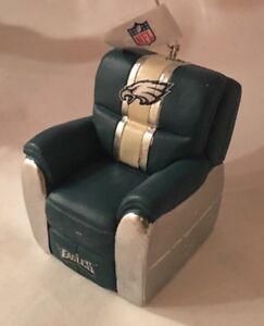 Philadelphia Eagles Reclining Chair Christmas Tree Holiday Ornament FREE SHIP