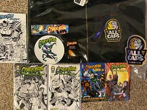 CYBERFROG All Caps Comics BACK TO SCHOOL SALE Bundle #1 Hoodie, Comics and more!