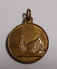 """Petite médaille religieuse ancienne """" Notre Dame de Bethleem """" - bronze"""