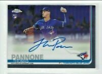 2019 Topps Chrome Thomas Pannone AUTO RC, Blue Jays Rookie!