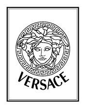 """""""VERSACE"""" - Extra Large Wall Art on Canvas - 29""""X37"""""""