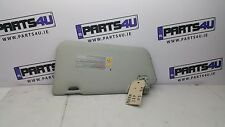 2005 NISSAN MICRA SUN VISOR LEFT SIDE RHD LIGHT GREY COLOUR