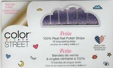 CS Nail Strips Achieve Grapeness - Petite 100% Nail Polish -USA Made!