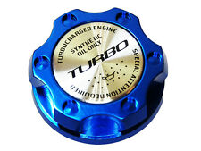 Ford 6.0L 7.3L V8 Turbo Diesel Engines Turbocharger Kit Billet Oil Fill Cap Blue