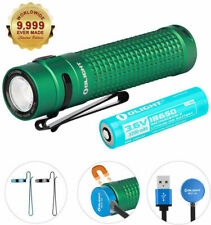 OLIGHT S2RII Green 1150Lm Rechargeable Variable Output LED Torch / Flashlight