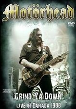 NEW Motorhead - Grind Ya Down (DVD)