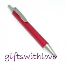 Red Enamel Ballpoint Pen - FREE ENGRAVING