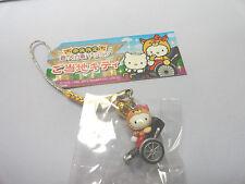 Sanrio Hello Kitty Charm Cell Phone Bag Rickshaw Deer Nara