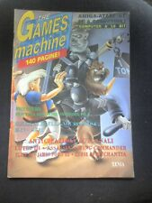 THE GAMES MACHINE 45  1992 XENIA no zzap 140 Pagine zapp tgm