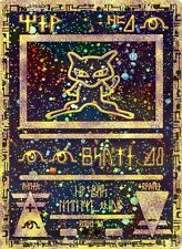 POKEMON - ANCIENT MEW (HOLOGRAPHIC) + Articuno, Moltres, Zapdos