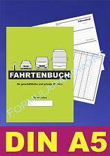 Großes DIN A5 FAHRTENBUCH,FAHRTENBÜCHER,Fahrtenheft,NEU, DIN A5 Fahrtenbericht