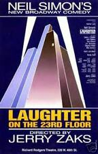 LAUGHTER ON THE 23RD FLOOR BROADWAY POSTER