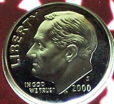 2000-S Silver Proof Roosevelt Dime - Deep Cameo!