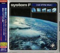 System F - Out Of The Blue, Japan CD Obi +1 Bonus Track
