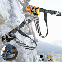 Rock Climbing Foot Rope Outdoor Mountaineering Ascender Safety Kit  1 */!