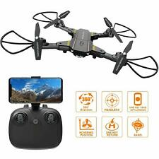 FALCORC Foldable Mini RC Drone with 720P WiFi Camera 2.4Ghz 6-Axis Gyro 2.4G Dro