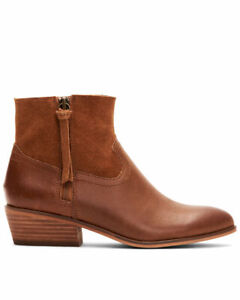 FRYE & CO * WOMENS * RUBIE ZIP UP * BROWN BOOTIES * SIZE 8 * $59.00 * BARGAIN!!!