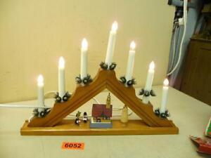 6052. gebr. Weihnachtslichter Pyramide Lichterbogen Weihnachten Deko