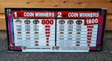 More details for igt double dollars casino / slot machine glass