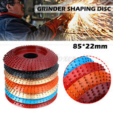 85*22mm Carbide Wood Sanding Carving Shaping Disc For Angle Grinder Grind