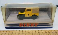 Dinky Matchbox DY-9B; 1949 Land-Rover yellow AA Road Service, VGC Boxed