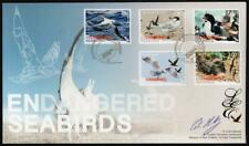 NEW ZEALAND MNH 2014 Sea Birds Limited Edition, Signed FDC
