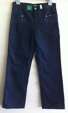 UCB BENETTON boy trousers sz xl 10-11 yrs cotton blue