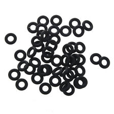 50 Pcs Flexible Nitrile Rubber O Rings Washers Grommets 4mm x 9mm x 2.5mm C S8H4