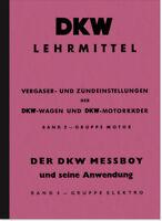 DKW Lehrmittel Vergaser Zündung RT SB NZ Anleitung Beschreibung 125 200 250 350