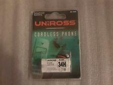 Uniross cordless phone 34h battery