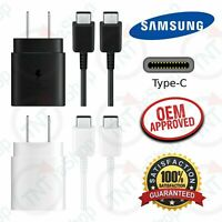 Original Samsung Galaxy Note 10 / Plus Super Fast Wall Charger Type C Data Cable