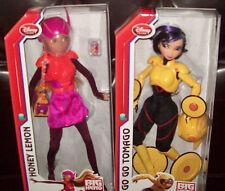 Lot/Set of Disney Honey Lemon Doll & Go Go Tomago Dolls  11'' Big Hero 6 NIB