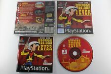 PLAY STATION PS1 PSX LUCKY LUKE WESTERN FEVER COMPLETO PAL ESPAÑA