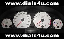 BMW 3 Series E46 (periodo 1998-2006) - 240km / h (benzina o gasolio) - QUADRANTE BIANCO KIT