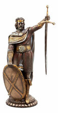 "Braveheart Scottish Knight Sir William Wallace Drawing Sword Figurine 11.5""H"