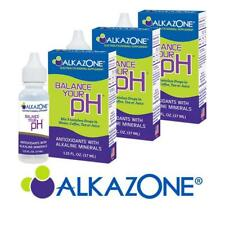 ALKAZONE Balance Your pH Antioxidants Alkaline Mineral Booster 3 Packs