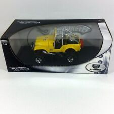 JEEP CJ-5 Modified Yellow Hot Wheels 1:18 Scale Rare Release from 2005 Brand New