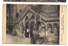 allemagne  ratisbonne  la cathédrale ,le jubé et le puits