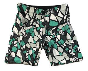 Volcom Board Shorts Trunks Men's 37/38 Mosaic Rear Pocket -NWT