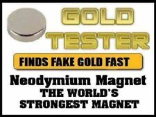 The worlds strongest  Magnet Testing  9ct  24CT 18ct Scrap Gold  coins
