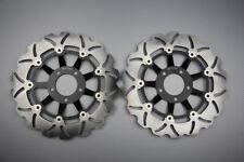 Paire disques frein avant wave 310mm pour Suzuki GS SS K1 K2 1200 2001-2002