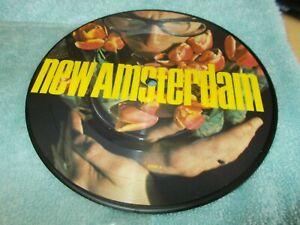 "ELVIS COSTELLO - NEW AMSTERDAM + 3 TRKS - UK 7""PICTURE DISC VINYL - NEW WAVE"