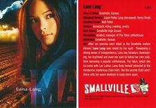 INKWORKS SMALLVILLE SEASON 1 CD PROMO CARD LANA LANG #1