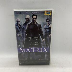 The Matrix VHS Tape Free Postage AU Seller