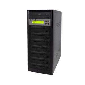 1 to 7 Target 24X SATA DVD CD Duplicator Tower Burner Multiple Disc Copier