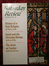 Saturday Review December 19 1970 MARCIA CAVELL ARCHIBALD MACLEISH