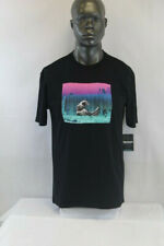 Pink Dolphin S/S Berlin Wave T-Shirt Black/Multicolor Us2011Bw