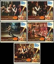 AT THE EARTH'S CORE original 1976 lobby cards DOUG MCCLURE/PETER CUSHING
