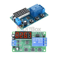 DC 24V LED Time 4-Digital Delay Relay Control Cycle Timer Switch Module Timer